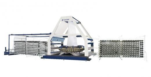 Ten-shuttle plastic circular knitting machine