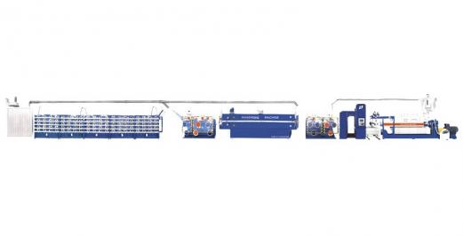 SJPL-GSSeries plastic extrusion flat film flat wire unit 1