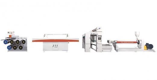 SJPL-ZSeries plastic extrusion flat film flat wire unit