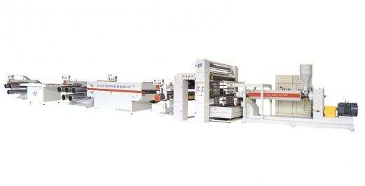 SJPLSeries plastic extrusion flat film drawing machine