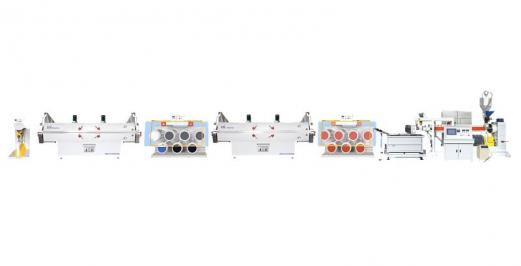 Garden silk, special-shaped wire series drawing machine