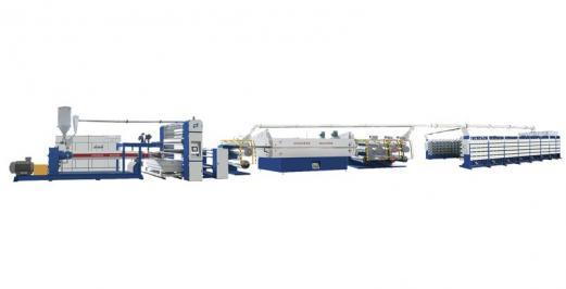 SJPL-GSSeries plastic extrusion flat film flat wire unit 2